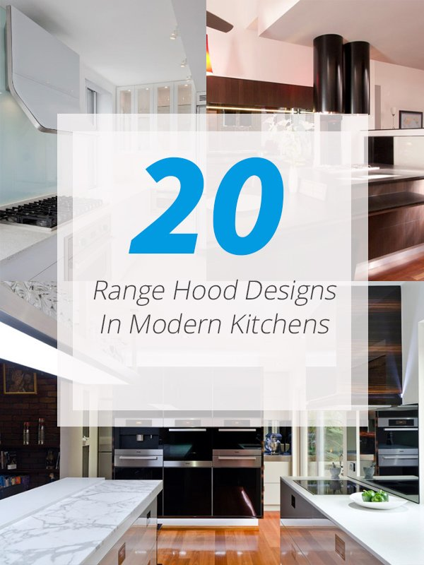 U Shaped Kitchen Design With Island 20 Range Hood Design Ideas For Your Modern Kitchen | Home