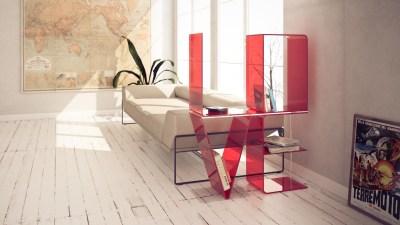 Unique Letter Shelves | Home Designing
