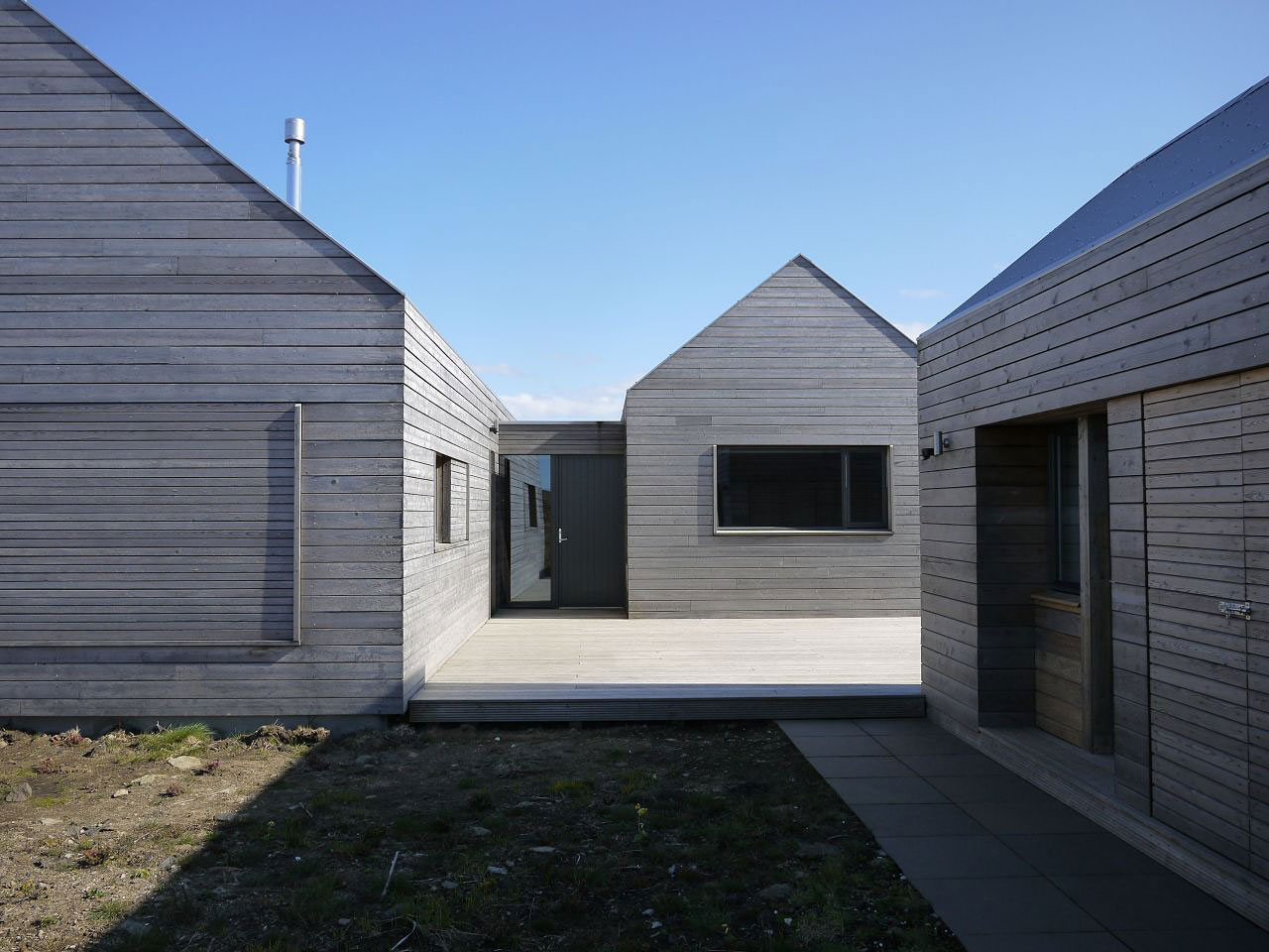 House Designs Scotland Contemporary House In Scotland By Dualchas Architects