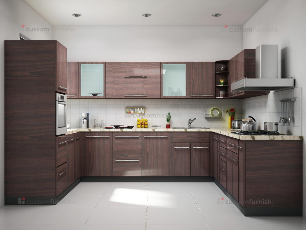 Different Interior Design Styles U Shaped Kitchen Interior Design Homedizz