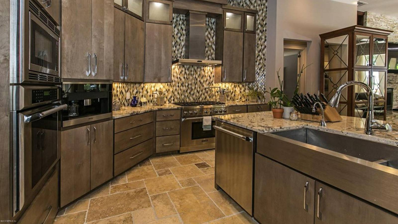 Travertine Countertop Care Wood And Travertine Floors Choice Image Cheap Laminate
