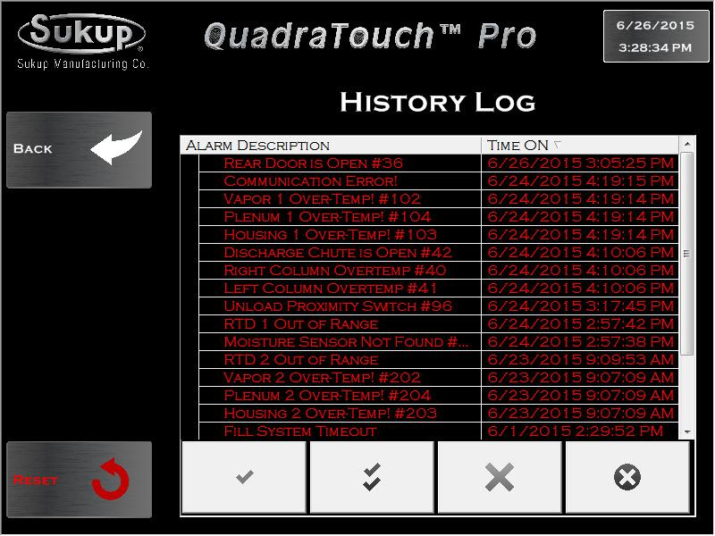 QuadraTouch Pro Software Manual Dryer Control System - PDF