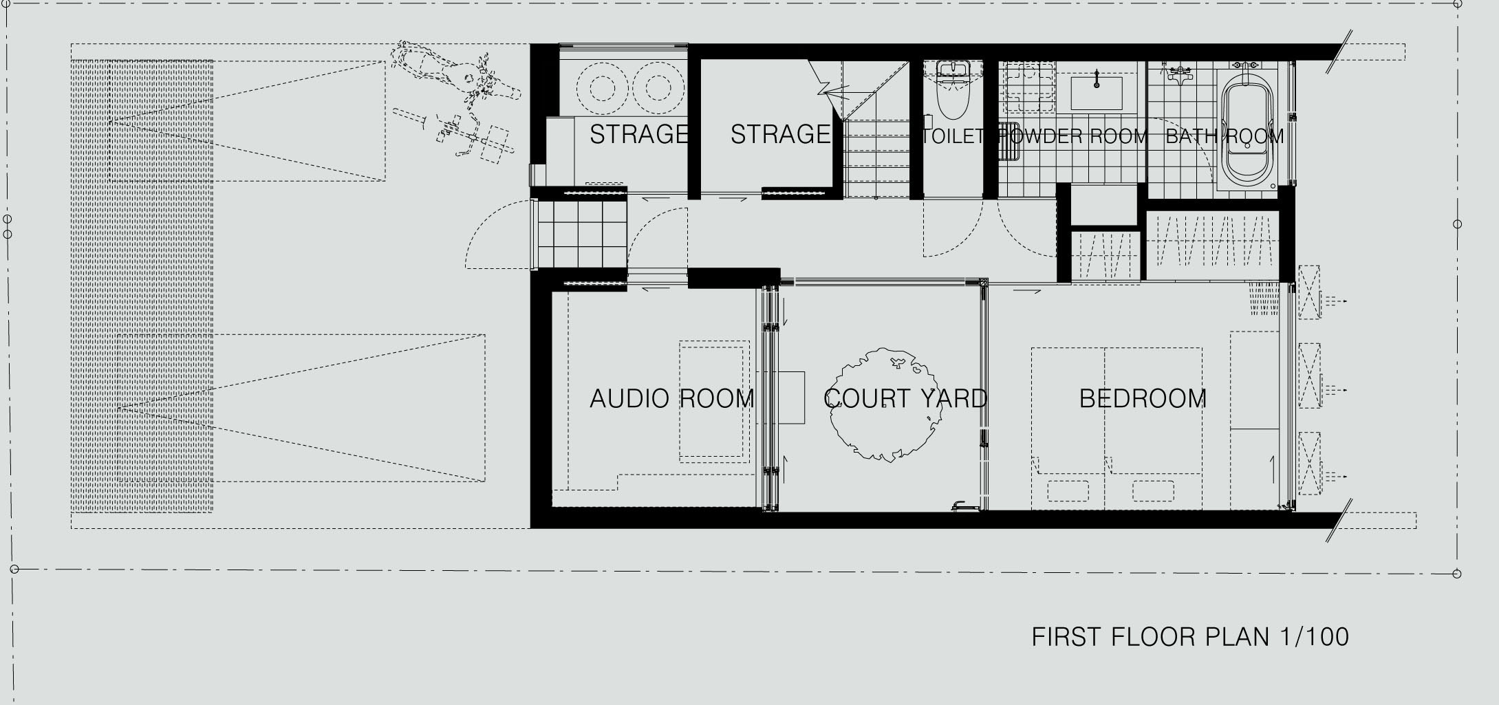 House 24 First Floor Plan Lift House 24 Interior Design Ideas