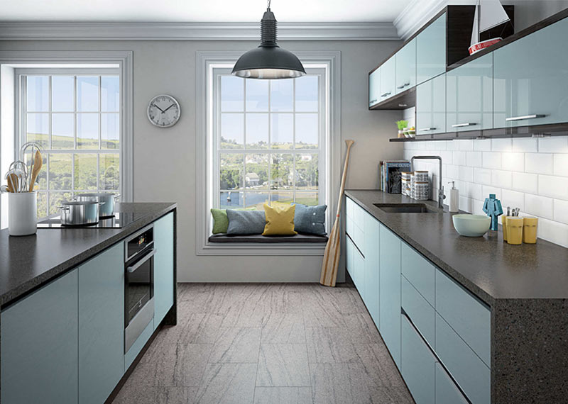 Triangle Island Kitchen The 5 Most Popular Kitchen Layouts - Home Dreamy