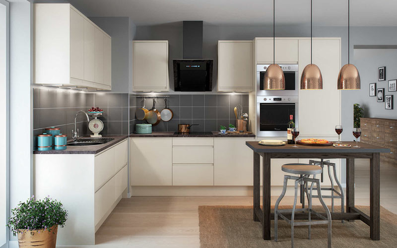 Triangle Shaped Kitchen Island The 5 Most Popular Kitchen Layouts - Home Dreamy