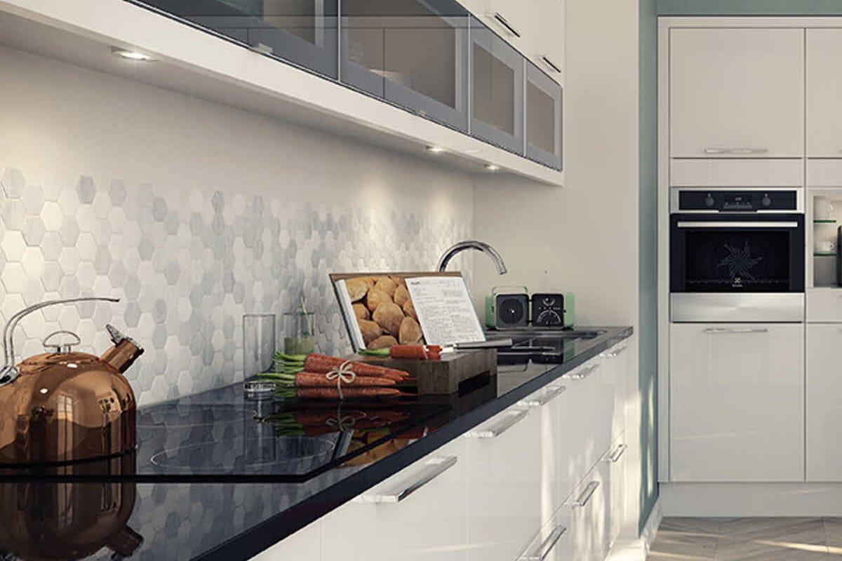 Black White Square Wallpaper 27 Kitchen Backsplash Designs Home Dreamy