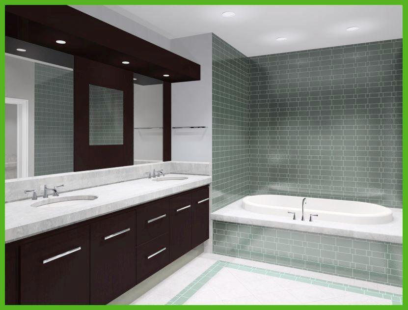Bathroom Sink With Backsplash