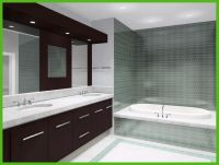 Bathroom Sink With Backsplash