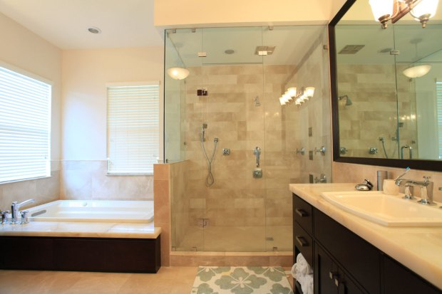 cost of remodeling bathroom - large remodel