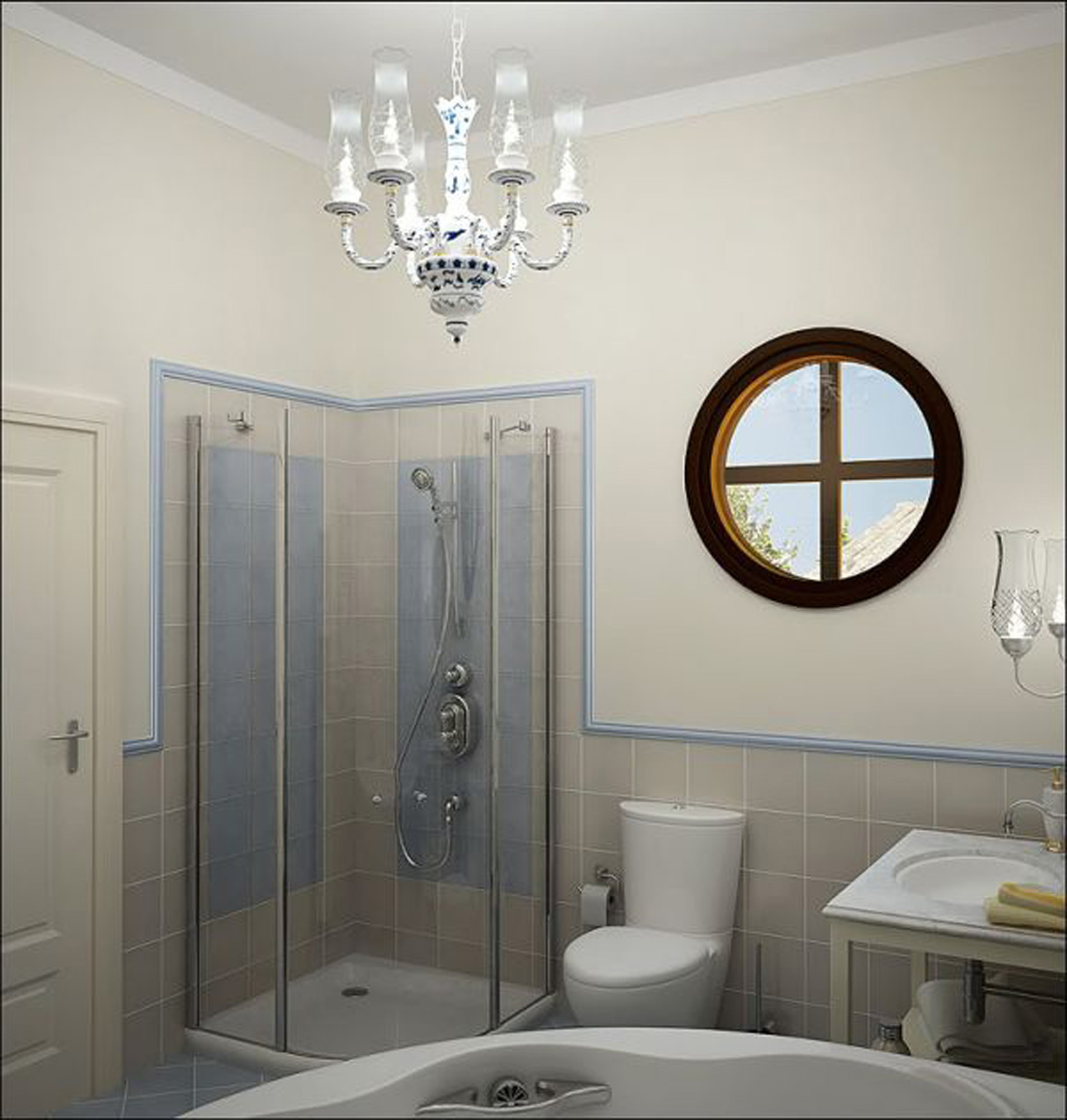 Kamar Mandi 1x1 Small Bathroom Shower Tile Ideas Large And Beautiful
