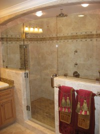 Small bathroom shower tile ideas - large and beautiful ...