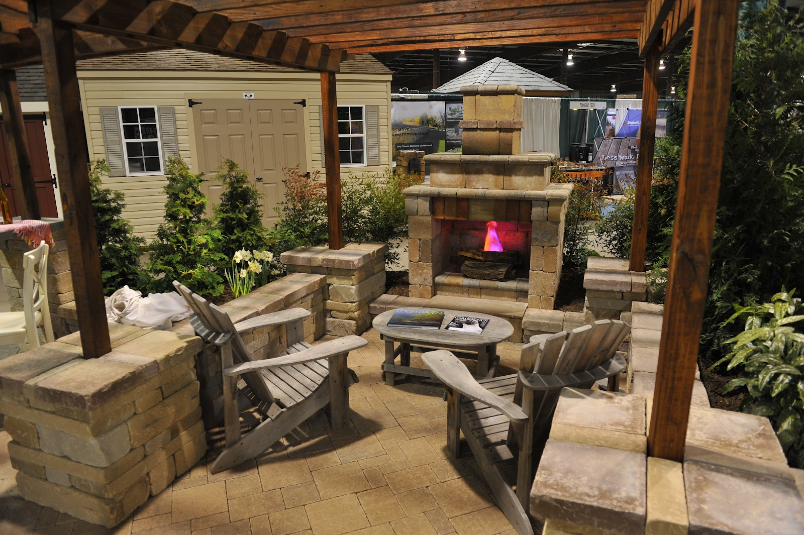 Your Own Backyard With Outdoor Kitchen Patio Design Ideas Outdoor ...