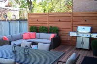 Backyard privacy wall - large and beautiful photos. Photo ...