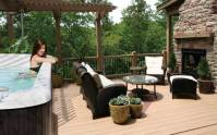 Backyard spa - large and beautiful photos. Photo to select ...