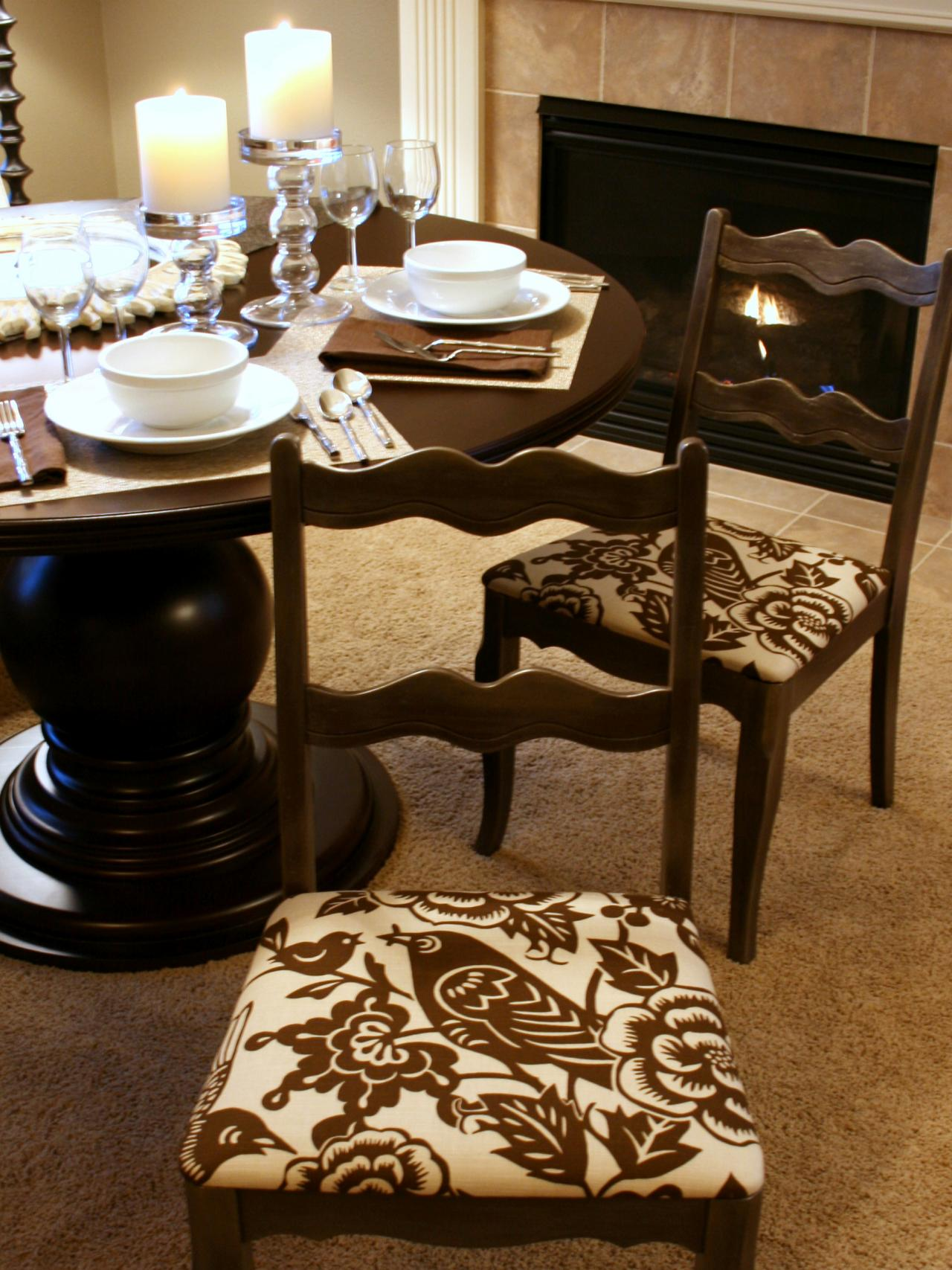 Dining Room Chair Fabric Fabric To Cover Dining Room Chairs Large And Beautiful Photos