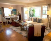 Small living room dining room combo - large and beautiful ...