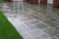 Backyard designs with pavers