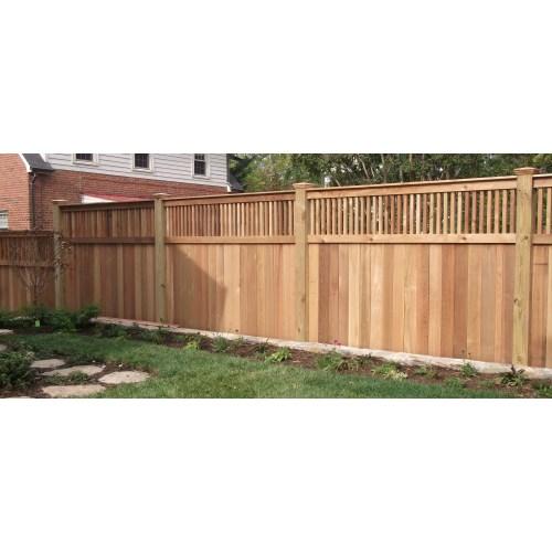 Medium Crop Of Backyard Fence Idea