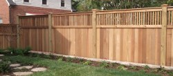 Small Of Backyard Fence Idea