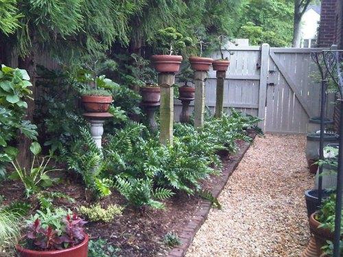 Medium Of Small Backyard Fence