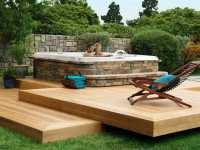Backyard hot tub ideas - large and beautiful photos. Photo ...