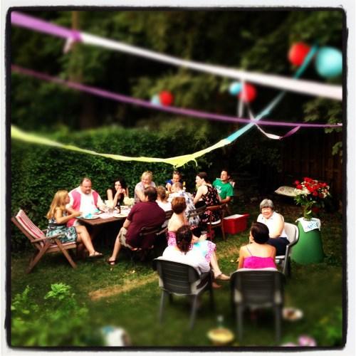Medium Of Backyard Party Decorating Ideas