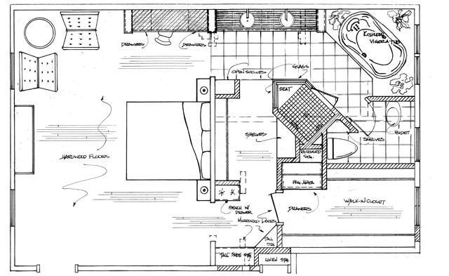 Bathroom Floor Plan Large And Beautiful Photos Photo To
