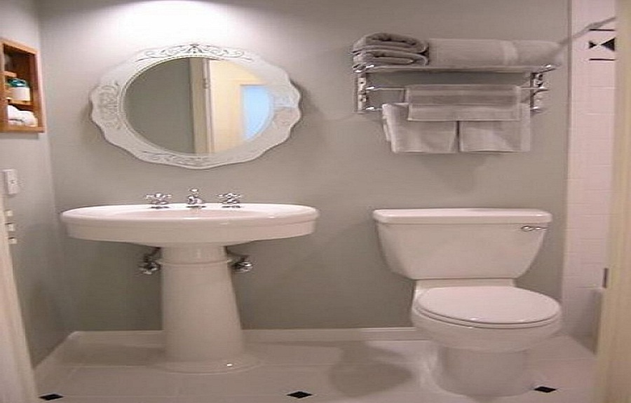 Bathroom makeovers - large and beautiful photos Photo to select - simple bathroom designs