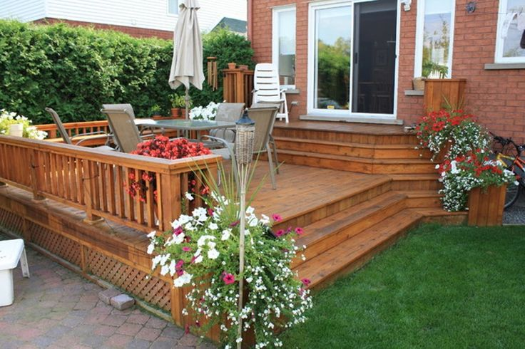 Deck And Patio Ideas For Small Backyards Large And