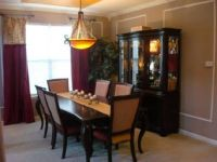 Formal dining room table centerpieces - large and ...