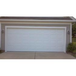 Small Crop Of Double Garage Door
