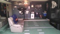 How to turn your garage into a man cave - large and ...