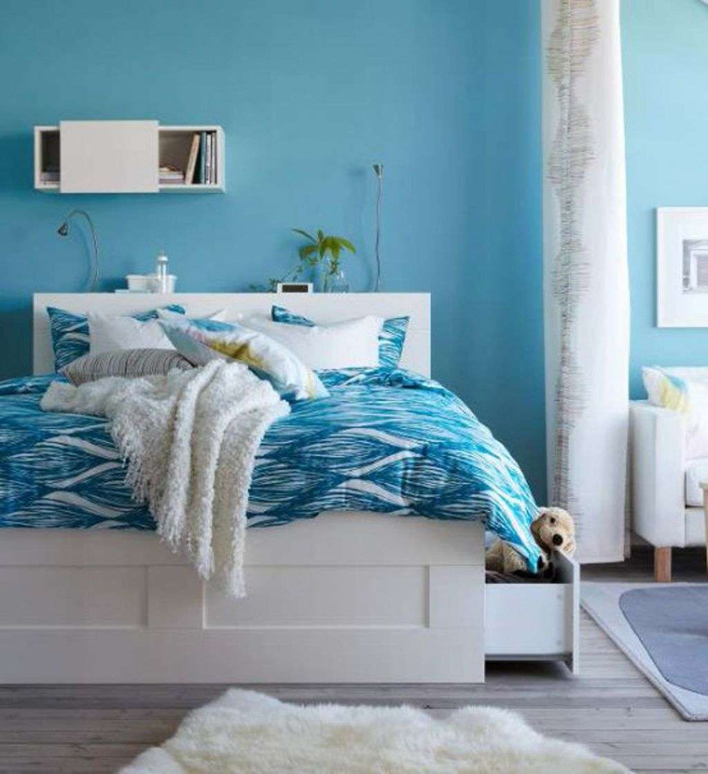 Paint colors for bedrooms blue photo 2
