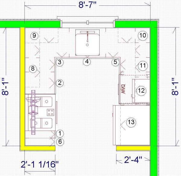Small kitchen plans - large and beautiful photos Photo to select - small kitchen design layouts