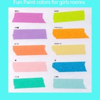 Teenage girl bedroom paint colors