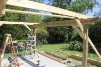 How to Build a Pergola in Two Days on a Budget - Detailed ...