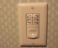 DewStop Humidity Control Review - Bathroom Fan Timer