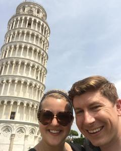 Also we took a pit stop in Pisa from Romehellip