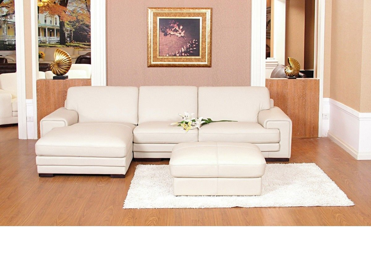 Sofa Set Price Rate Chaise Corner Sofa Leather Mix Cream Black Brown Homegenies