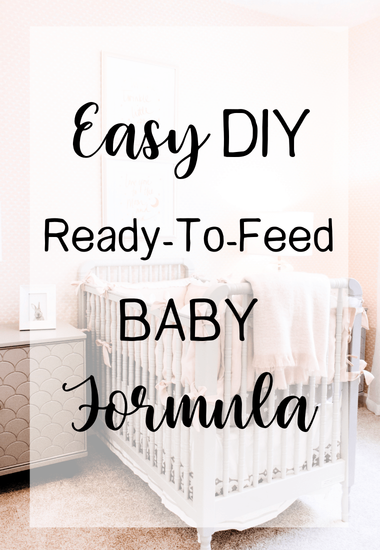 Baby Only Likes Ready Made Formula Easy Diy Ready To Feed Baby Formula Homegrown Motherhood