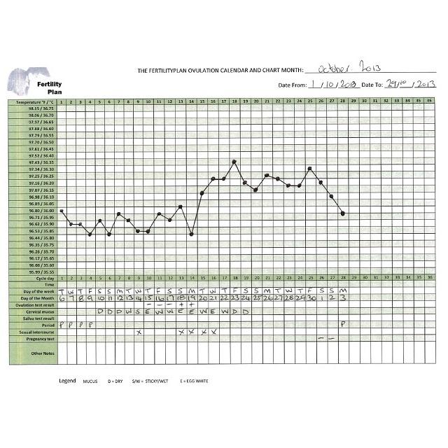 Digital Basal BBT Centigrade(Celsius) Thermometer + 20 Ovulation