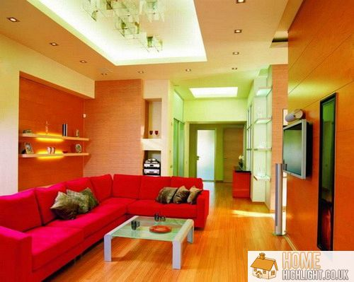 28 Cool & Colourful Living Room Design Photos  Home Highlight