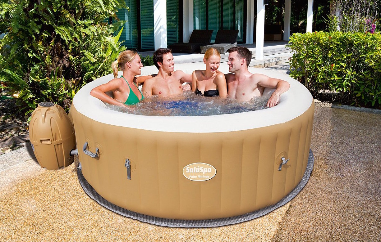 Jacuzzi Pool Pump Reviews Saluspa Palm Springs Hot Tub Review Hot Tub Guide