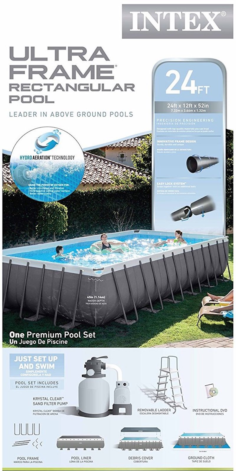 Intex Pool Frame Rund Best Above Ground Pool For 2019 Reviews Tips And Buying Guide