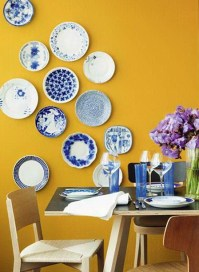 Decorated with a beautiful wall plate | Ideas for Home ...
