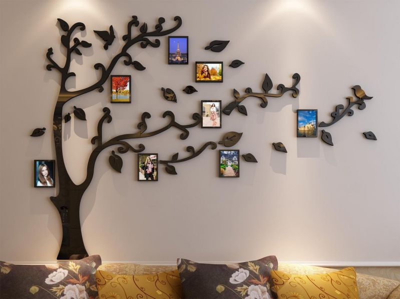 Slide Under Sofa Table Family Tree Picture Frame Arrangement Ideas