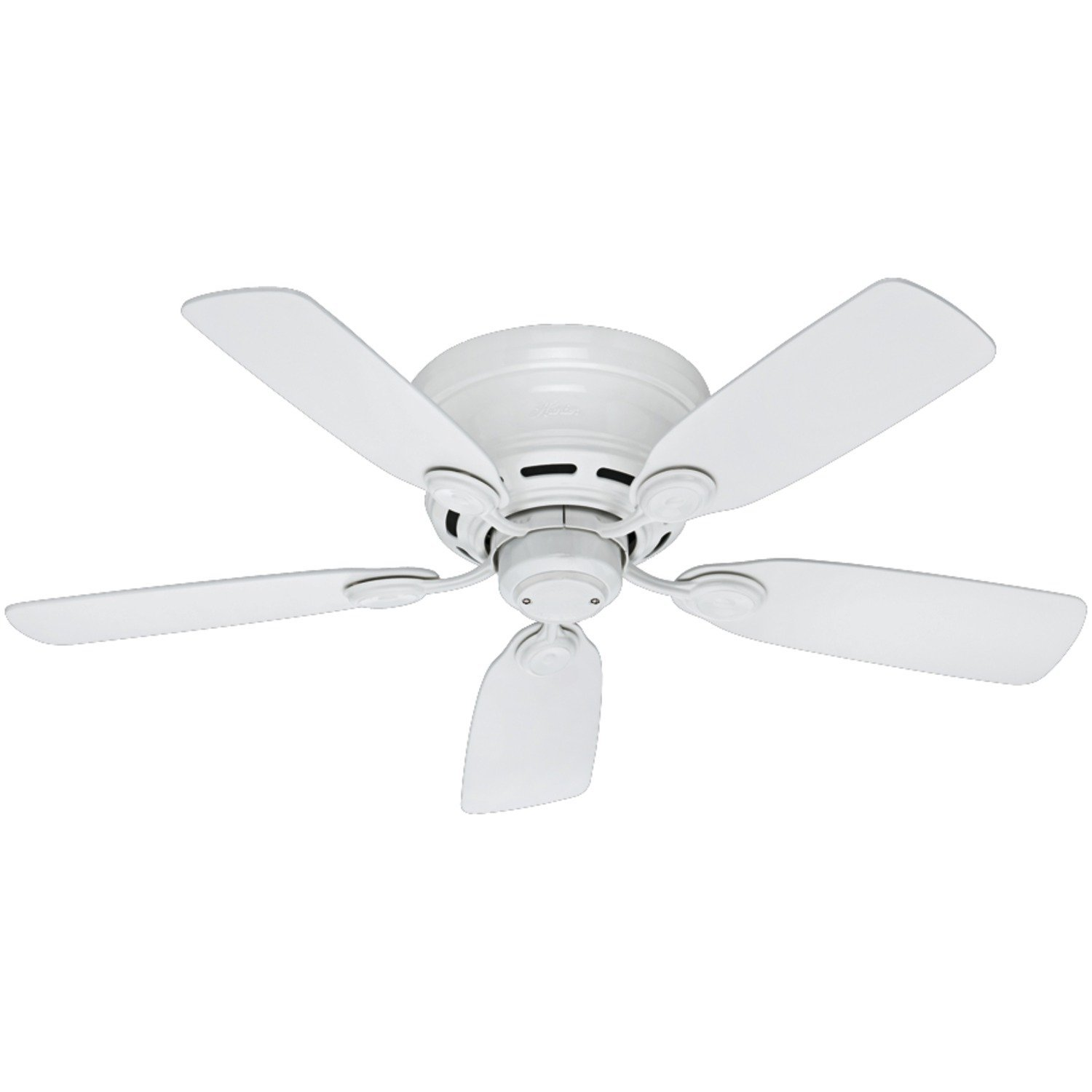 Long Blade Ceiling Fan Flush Mount Ceiling Fans Review Choose The Best