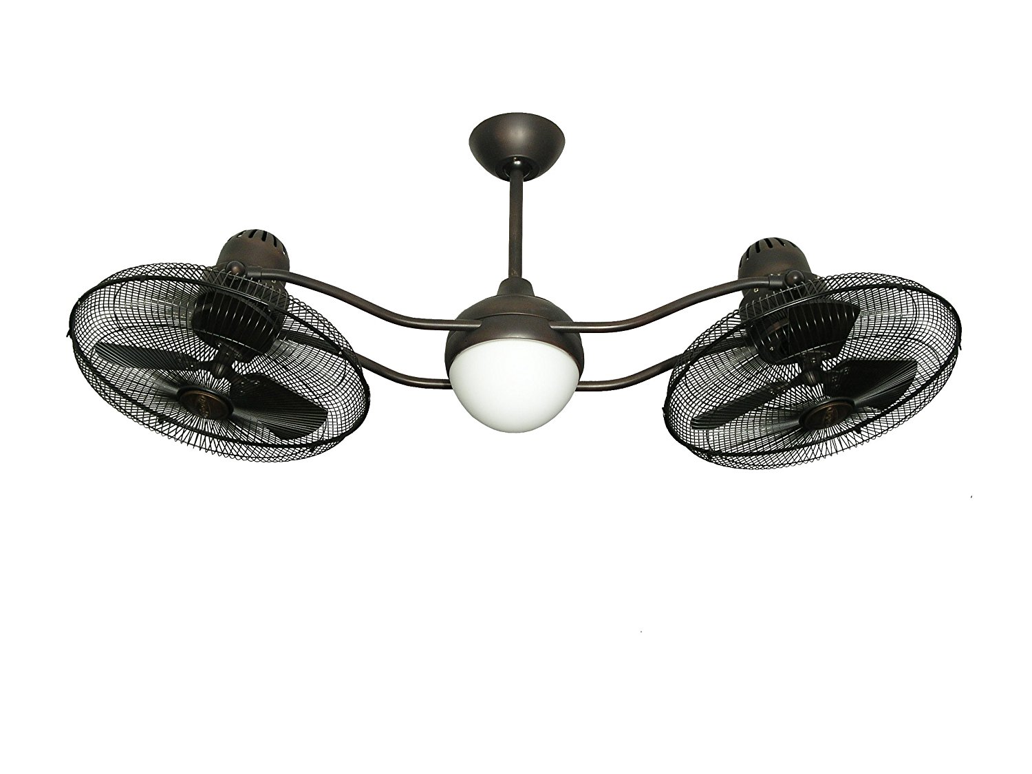 Double Fan Ceiling Fan With Light Double Ceiling Fan With Lights For Better Air Movement Homeindec