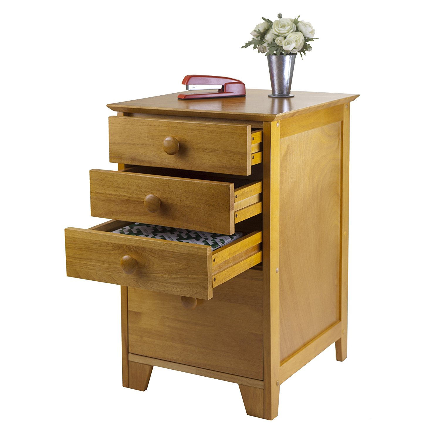 Solid Wood File Cabinet Best 4 Drawer Solid Wood Cabinet Furniture For File Organizing