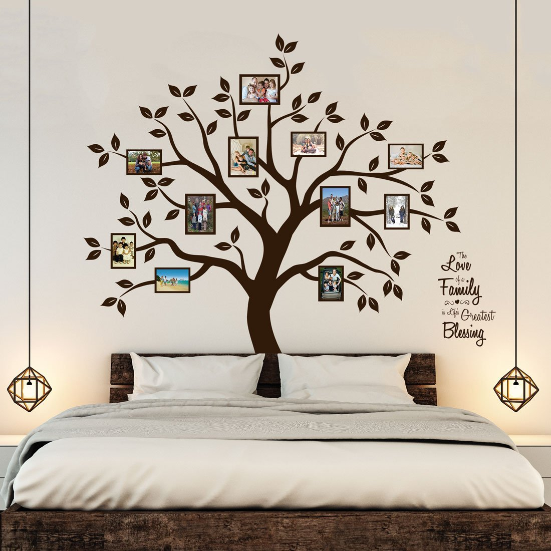 Bedroom Wall Art Trees Best 3 Bedroom Wall Decals Sticker For Mural Ideas Homeindec